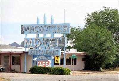 veritas vita visited Frontier Motel - Route 66 Neon