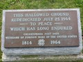 Image for Hallowed Ground Rededicated July 25 1964 - to Peace - Which has Long Endured - Niagara Falls, Ontario