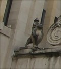 Image for English Lion -- Temple Bar Gate, Paternoster Square, City of London, UK