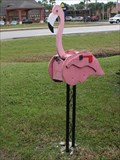 Image for Pink Flamingo Mailbox - St. Augustine, FL