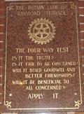 Image for Town clock, Raymond Terrace, NSW, Australia