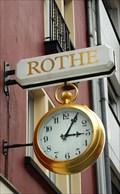 Image for Golden Clock at Kaiserstraße 7, Siegburg - NRW / Germany