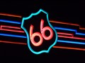 Image for Neon 66 Bridge - Albuquerque, New Mexico, USA.