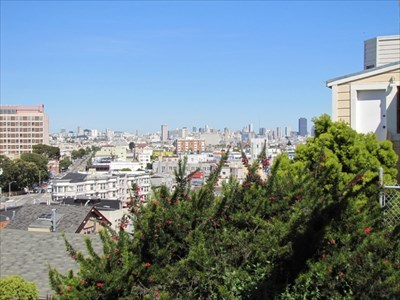 View of Downtown, San Francisco, CA