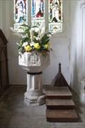 Image for Font - St.Mary the Virgin's Church, Henham, Essex.