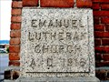Image for 1916 - Emanuel Lutheran Church - Butte, MT