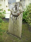 Image for Woman Holding Ship - Caerleon, Wales