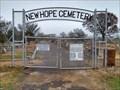 Image for New Hope Cemetery - Jewett, TX