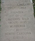 Image for Russell Gregory - Murdered - Cades Cove, Tennessee, USA.