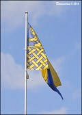 Image for Lovosice - municipal flag at the Municipal Office (Northern Bohemia)