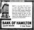 Image for Bank of Hamilton - Granum, Alberta