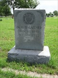 Image for Dr. Q. O. Gaither - Squaw Creek Cemetery - Rainbow, TX