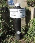 Image for Trent & Mersey Canal Milepost - Stoke-on-Trent, UK