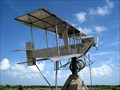 Image for 1913 Burgess and Curtis Biplane (stainless steel replica) - Texas City, TX