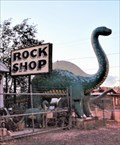 Image for Rock Shop Dinosaurs - Route 66 - Holbrook, Arizona, USA.