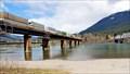 Image for Fire engulfs CP Rail bridge in Revelstoke, B.C.