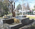 Image for Saint Andrews Abbey fountain- Valyermo California