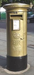 Image for Gold Post Box For Gold Medallist Philip Hindes - Manchester, UK