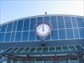 Image for Jack London Square Amtrak station clock - Oakland, CA