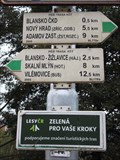 Image for Direction and Distance Arrow - Blansko, Czech Republic