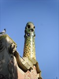 Image for Chimney from the Casa-Museu Gaudí - Barcelona, Spain