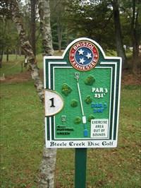 Steele Creek Park Disc Golf Course Bristol Tn Disc Golf Courses