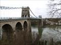 Image for The Menai Suspension Bridge, Porthaethwy, Ynys Môn, Wales