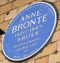 Image for Anne Bronte, Grand Hotel, St Nicholas Cliff, Scarborough, Yorks, UK