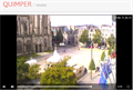 Image for Webcam Vue de la Mairie - Quimper, France