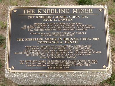 Historic Route 66 - Kneeling Miner
