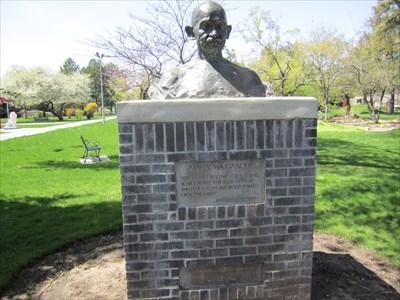 Mahatma Gandhi - International Peace Garden, Salt Lake City, Utah ...