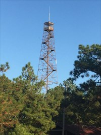 North Carolina Forestry Service Lookout Tower at Eagle Springs