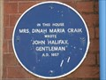 Image for Mrs Dinah Maria Craik - North Street, Wareham, Dorset, UK