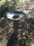 Image for Colorful Birdbath - Modjeska, CA