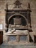 Image for Tombs of John and Mary Vernon - All Saints Church - Sudbury, Ashbourne, Derbyshire, England, UK.