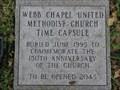 Image for Webb Chapel United Methodist Chuch Time Capsule - Farmers Branch, TX