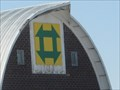 Image for Churn Dash Barn Quilt, rural Wellsburg, IA