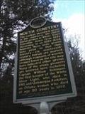 Image for Mouth Cemetery -  Michigan Historical Marker #1600  -  Montague Michigan