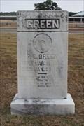 Image for P.E. Green - Dobbs Valley Cemetery - Palo Pinto County, TX