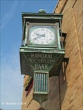 Image for National Central Bank/Wells Fargo Bank Clock - Red Lion, PA