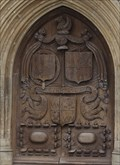 Image for Montagu Family CoA -- Great West Doors, Bath Abbey, bath, Somerset, UK