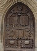 Image for Montagu Family CoA -- Great West Doors, Bath Abbey, bath, Somerset, UK