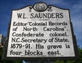 Image for W. L. Saunders, Marker E-40