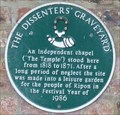 Image for Dissenter's Graveyard, Allhallowsgate, Ripon, N Yorks, UK