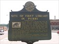 Image for Site of First Library in Pierre