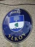 Image for Znak obce - Vlkov, Czech Republic