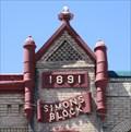 Image for 1891 - Simon's Block - Payson, Utah
