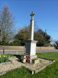 Image for Combined WWI and WWII  cross - St Bartholomew - Brisley, Norfolk
