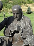 Image for Franklin Crater - Ben Franklin Statue - Bountiful, Utah