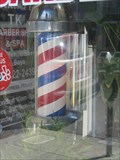 Image for TK Barber Shop Pole - Alameda, CA